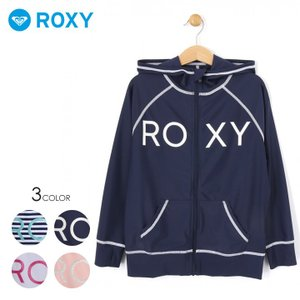 ROXY ロキシー ラッシュガード キッズ MINI RASHIE PARKA 2019春夏|3direct