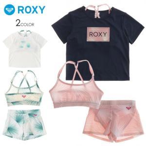 SALE セール ROXY ロキシー ビキニ セット キッズ MINI PALM DANCE 2019春夏|3direct
