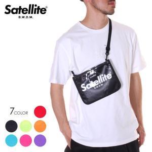 SALE セール SATELLITE サテライト サコッシュ メンズ CLEAR 3direct