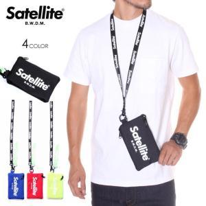 SATELLITE サテライト ポーチ メンズ CREAM|3direct