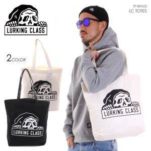 LURKING CLASS ラーキングクラス トートバッグ メンズ LC TOTES ST18FA02 2018秋冬 ブラック/ホワイト ワンサイズ|3direct