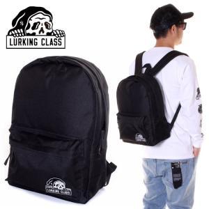 LURKING CLASS ラーキングクラス リュック メンズ LC DAYPACK ST19SA05 2019春夏 ブラック ワンサイズ|3direct
