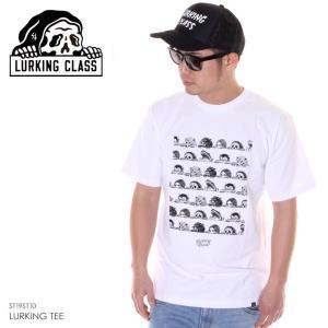 LURKING CLASS ラーキングクラス Tシャツ メンズ LURKING TEE ST19ST10 2019春夏 ホワイト S/M/L|3direct