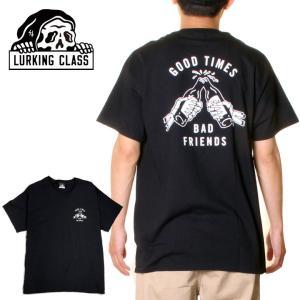 LURKING CLASS ラーキングクラス Tシャツ メンズ GOOD TIMES TEE ST19ST17 2019春夏 ホワイト S/M/L|3direct