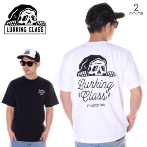 LURKING CLASS ラーキングクラス Tシャツ メンズ LCST TEE ST19ST18 2019春夏 ブラック/ホワイト S/M/L|3direct