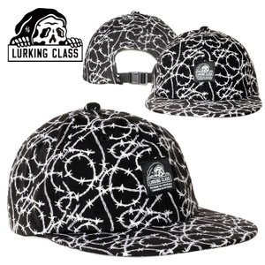 LURKING CLASS ラーキングクラス キャップ メンズ BARBED WIRE SNAP BACK 2020秋冬|3direct
