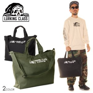 LURKING CLASS ラーキングクラス トートバッグ メンズ 2WAY TOTE BAG 2020秋冬|3direct