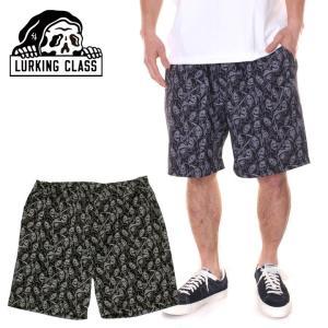 【ワイワイSALE】 LURKING CLASS ラーキングクラス ハーフパンツ メンズ GANG GANG SHORT PANTS|3direct