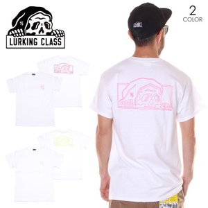 SALE セール LURKING CLASS ラーキングクラス Tシャツ メンズ NEON LOGO TEE|3direct
