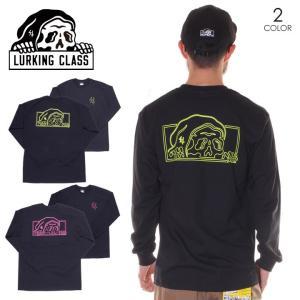 LURKING CLASS ラーキングクラス Tシャツ ロンT メンズ NEON L/S TEE 2020春夏|3direct