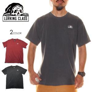 SALE セール LURKING CLASS ラーキングクラス Tシャツ メンズ PIGMENT POCKET TEE 2020春夏|3direct