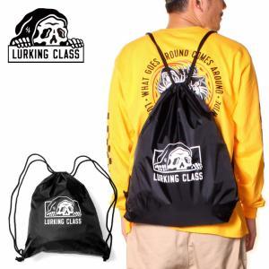 SALE セール リュック ナップザック バッグ 男女兼用 ロゴ LURKING CLASS COPRO KNAPSACK ブラック 18L 2021 春夏 3direct