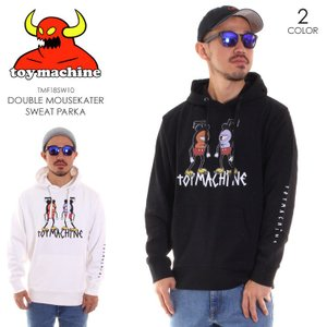 TOY MACHINE トイマシーン パーカー メンズ DOUBLE MOUSEKATER SWEAT PARKA TMF18SW10|3direct