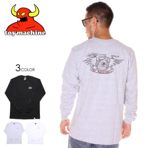 SALE セール TOY MACHINE トイマシーン Tシャツ ロンT メンズ LOYAL PAWNS LONG SLEEVE TEE|3direct