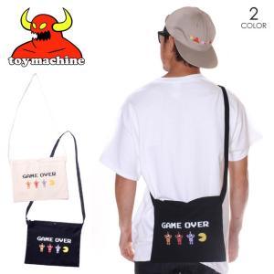 TOY MACHINE トイマシーン サコッシュ メンズ PACMAN GAMEOVER SECT BAG|3direct