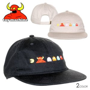 SALE セール TOY MACHINE トイマシーン キャップ メンズ PACMAN PACMONSTER TM CAP|3direct