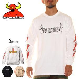 TOY MACHINE トイマシーン Tシャツ ロンT メンズ PEPPER SECT LONG TEE 2020秋冬|3direct