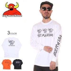 TOY MACHINE トイマシーン Tシャツ ロンT メンズ DEAD MONSTER LONG TEE 2020春夏|3direct