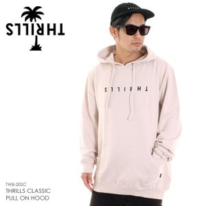 THRILLS スリルズ パーカー メンズ THRILLS CLASSIC PULL ON HOOD TW8-202C 2018秋冬|3direct