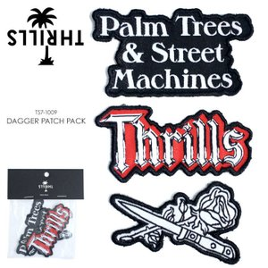 THRILLS ワッペン メンズ DAGGER PATCH PACK TS7-1009 2018春 アソート ワンサイズ|3direct
