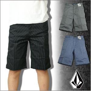 VOLCOM (ボルコム/ヴォルコム) 子供服/キッズ ハーフパンツ FRICKIN STRIPE SHORT|3direct