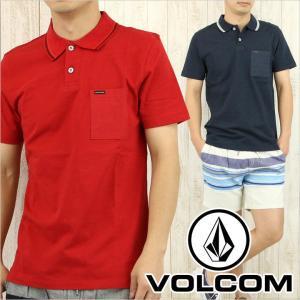 VOLCOM ボルコム ポロシャツ WAKEFIELD POLO メンズ / ロゴ シンプル S/S 半袖|3direct