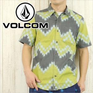VOLCOM ボルコム シャツ CHARLEY S/S メンズ / 総柄 柄シャツ SHIRT 半袖|3direct