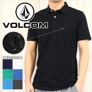 VOLCOM ボルコム シャツ WOWZER POLO メンズ / ポロ ロゴ S/S 半袖|3direct