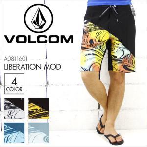 VOLCOM ボルコム サーフパンツ メンズ LIBERATION MOD [A0811601] ボードショーツ ストレッチ サーフィン サーフ 水着 海パン 大きいサイズ 16 2016|3direct