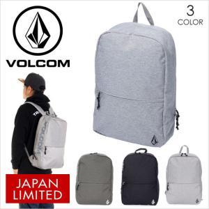 リュック メンズ VOLCOM SMART DAY BACKPACK - D65317JF ボルコム デイバッグ バックパック ロゴ シンプル スケート ストリート サーフ レディース 日本限定 17|3direct