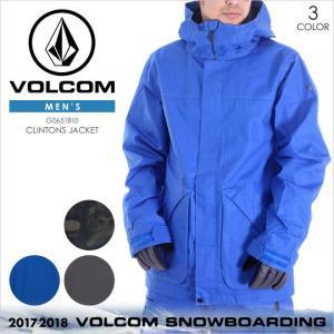 17-18 VOLCOM スノーウェア メンズ CLINTONS JACKET 17-18 秋冬 G0651810 カモフラージュ/ブルー/グレー XS/S/M/L/XL|3direct