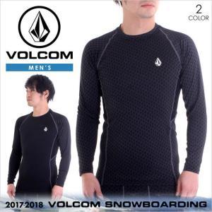 17-18 VOLCOM インナー メンズ STONE LAYER 2017-2018 秋冬 G21518JA BLK/BLP S/M/L|3direct