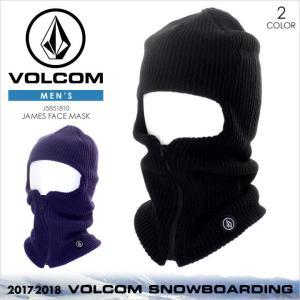 VOLCOM フェイスマスク メンズ JAMES FACE MASK 2017-2018 J5851810 ブラック/ネイビー ワンサイズ|3direct