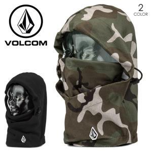 VOLCOM フェイスマスク メンズ STONE HOOD WARMER 2017-2018 J67518JB ブラック/グレー ワンサイズ|3direct