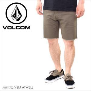 ハーフパンツ メンズ VOLCOM VSM ATWELL - A0911702 ボルコム パンツ ショーツ ショートパンツ ストレッチ シンプル|3direct