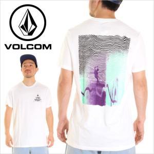Tシャツ メンズ VOLCOM CROSS MAG - A5021709 ボルコム Tシャツ バックプリント  サーフ スケート 2017 17|3direct