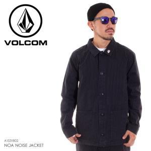 VOLCOM ボルコム ジャケット メンズ NOA NOISE JACKET A1531802 2018秋冬 ブラック S/M/L|3direct