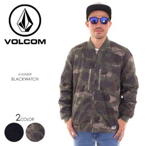 VOLCOM ボルコム MA-1 ジャケット メンズ BLACKWATCH JACKET A1631809 2018秋冬|3direct