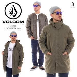 VOLCOM ボルコム ジャケット メンズ STONER PARKA A1731801|3direct