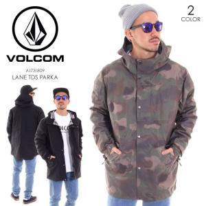 VOLCOM ボルコム ジャケット メンズ LANE TDS PARKA A1731809|3direct