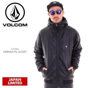 VOLCOM ボルコム ジャケット メンズ HERNAN PU JACKET A17318JA|3direct