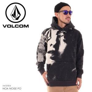 VOLCOM ボルコム パーカー メンズ NOA NOISE PO A4131814 2018秋冬 ブラック S/M/L|3direct