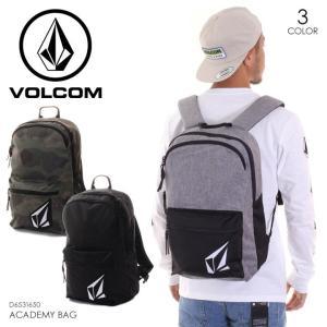 VOLCOM ボルコム リュック メンズ ACADEMY BAG D6531650 2018秋冬 ブラック/グレー/カモフラージュ 18.5L|3direct