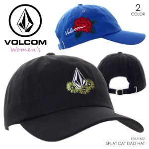 VOLCOM ボルコム キャップ レディース SPLAT DAT DAD HAT E5531802 2018秋冬 ブラック/ブルー/オレンジ/マルチ ワンサイズ|3direct