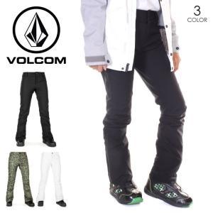 VOLCOM ボルコム スノーウェア レディース BATTLE STRETCH PANT H1351907|3direct
