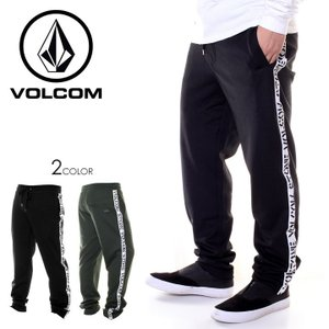 VOLCOM ボルコム パンツ メンズ ALBUM PANT A1241803 2018秋冬 ブラック/グリーン S/M/L/XL|3direct