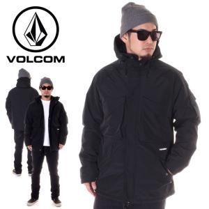 VOLCOM ボルコム ジャケット メンズ DISCONNECTED JACKET A1731800 2018秋冬 ブラック S/M/L|3direct
