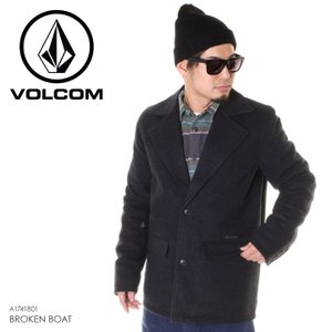 VOLCOM ボルコム ジャケット メンズ BROKEN BOAT A1741801 2018秋冬 ブラック S/M/L|3direct
