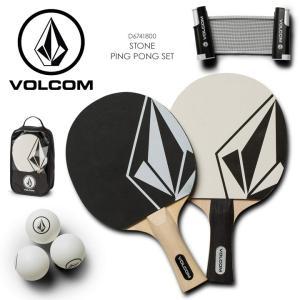 VOLCOM ボルコム 卓球セット メンズ STONE PING PONG SET D6741800 2018秋冬 ブラック ワンサイズ|3direct