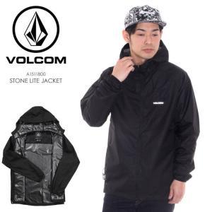 VOLCOM ジャケット STONE LITE JACKET A1511800 2018春 ブラック S/M/L|3direct